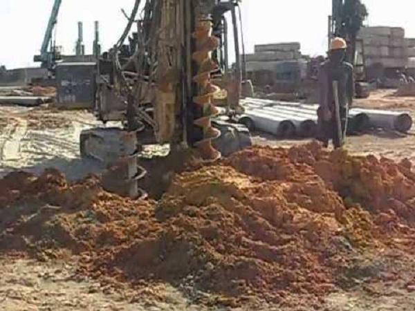 Giá khoan Mồi - Giá khoan rút đất - Khoan Dẫn ép cọc bê tông tại Hà Nội, TPHCM