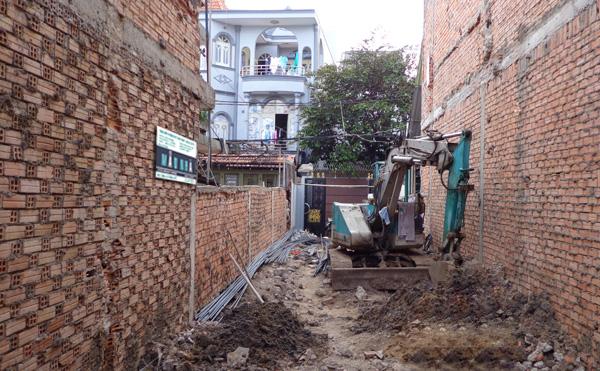 Đơn báo giá đào móng Nhà tại Hà Nội 2017